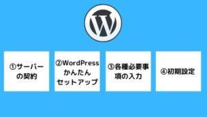 WordPressブログの始め方手順